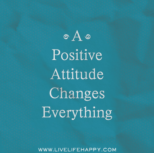 Attitude is evrything