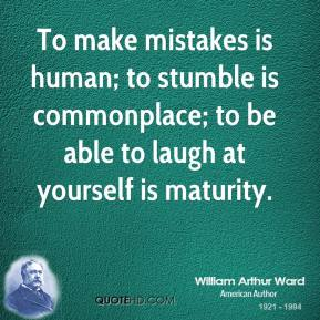 william-arthur-ward-writer-quote-to-make-mistakes-is-human-to-stumble