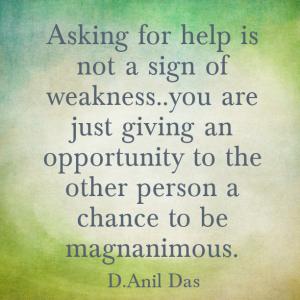 asking help